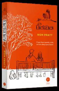 Encrenca - Non Pratt, capa do livro lançado pela Editora Verus