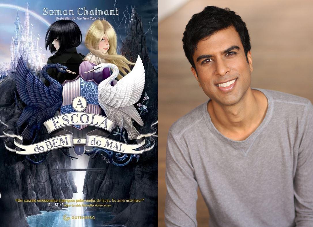 Soman Chainani vem ao Brasil como um dos autores internacionais na Bienal do Livro de São Paulo