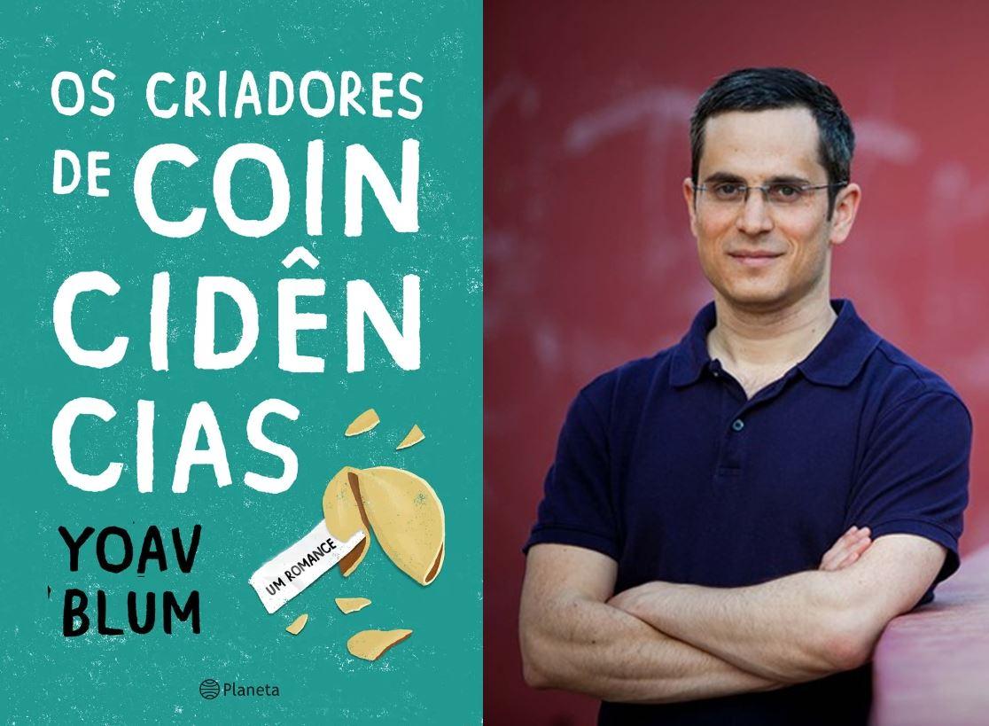 Yoav Blum vem ao Brasil como um dos autores internacionais na Bienal do Livro de São Paulo