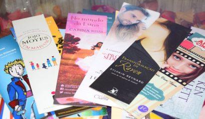 Pesquisa premiada com sorteio de marcadores de páginas no Último Romance
